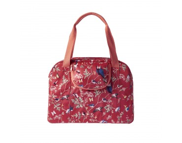 BASIL WANDERLUST CARRY ALL BAG women's bicycle bag vintage red