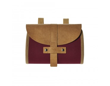 BASIL PORTLAND SADDLE BAG saddle bag dark red