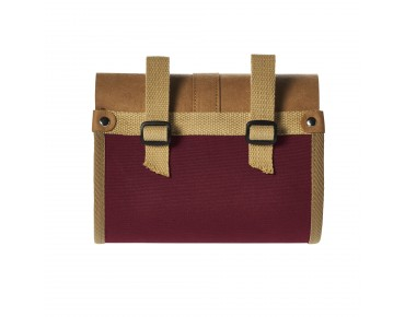 BASIL PORTLAND SADDLE BAG Satteltasche dark red