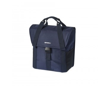 BASIL GO SINGLE BAG pannier dark denim blue