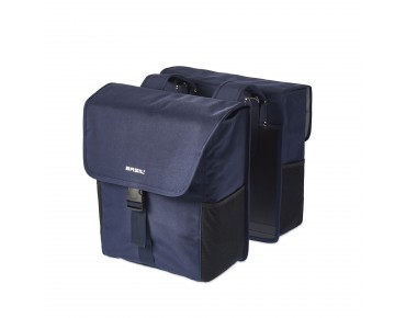 BASIL GO DOUBLE BAG panniers dark denim blue