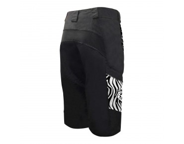 Deputy Sheriff WILD ANIMAL Damen Bikeshorts black