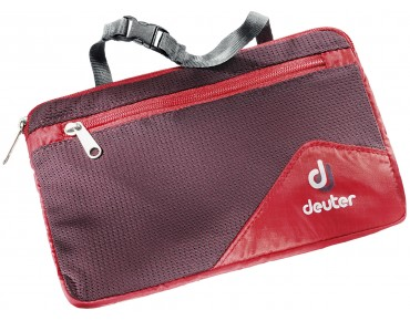 deuter WASH BAG LITE II fire/aubergine