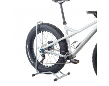 Willworx Superstand for fat bikes silber