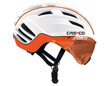 CASCO SPEEDster TC PLUS helmet 2016 white/orange