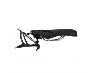 Profile Vertex 80 Solid CrMo saddle incl. Vise Cage bottle cage black
