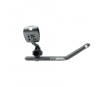 Profile V4+ ZB Flip-up aero bar black/matt