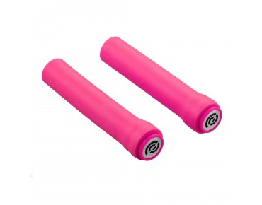 Bike Ribbon SiO2 Race grips fluo pink