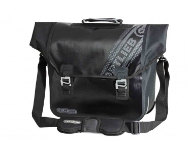 ORTLIEB DOWNTOWN QL3.1 Black 'n White pannier bag black
