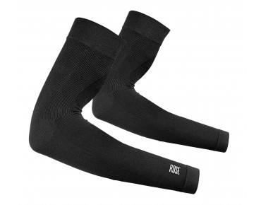 SEAMLESS arm warmers schwarz