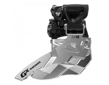 SRAM GX 2 x 10 High Clamp front derailleur