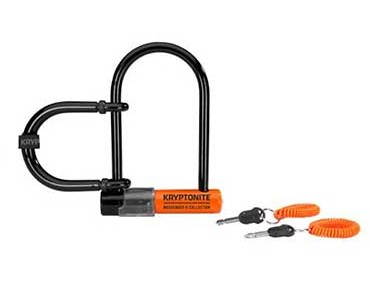 Kryptonite Messenger Mini U-lock + wheel extender