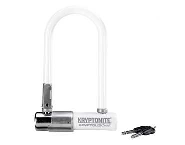 Kryptonite Kryptolok 2 Mini-7 U-lock weiß