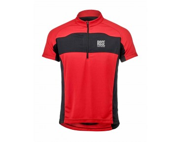 ROSE MOUNTAIN BASIC Trikot red/black