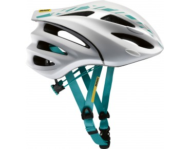 MAVIC KSYRIUM ELITE road helmet white/moorea blue