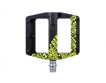 Sixpack Icon pedals black/yellow