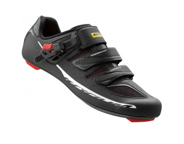 MAVIC KSYRIUM ELITE II road shoes black/racing red/black