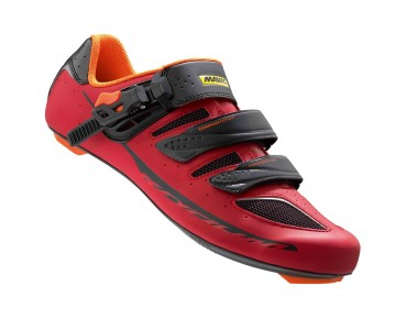 MAVIC KSYRIUM ELITE II Rennradschuhe red/black/gerorge orange-x