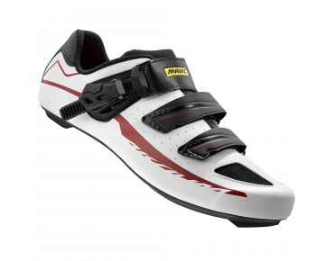 MAVIC AKSIUM ELITE II Rennradschuhe white/black/red