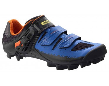 MAVIC CROSSRIDE SL ELITE - scarpe MTB black/blue/gerorge orange-x