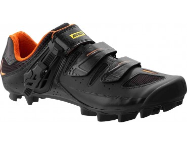 MAVIC CROSSRIDE SL ELITE - scarpe MTB black/grey/fluorescent orange