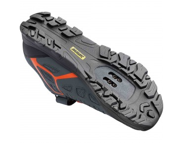 MAVIC CROSSRIDE MTB-/Trekkingschuhe grey/george orange-x