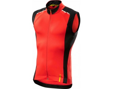 MAVIC COSMIC ELITE SL sleeveless jersey racing red/black