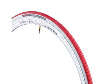 Elite Coperton hometrainer tyre red/white