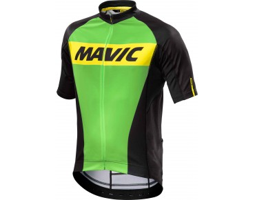 MAVIC COSMIC Trikot light green-x/black