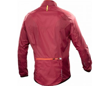 MAVIC AKSIUM windbreaker red/george orange-x