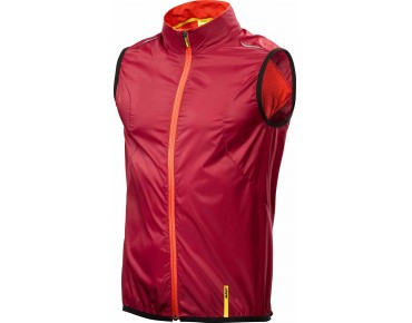 MAVIC AKSIUM bodywarmer red/george orange-x