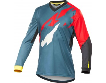 MAVIC CROSSMAX PRO LS long-sleeved bike shirt aviator-x/racing red