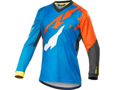 MAVIC CROSSMAX PRO LS long-sleeved bike shirt montana/gerorge orange-x