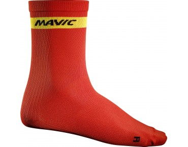 COSMIC HIGH socks racing red