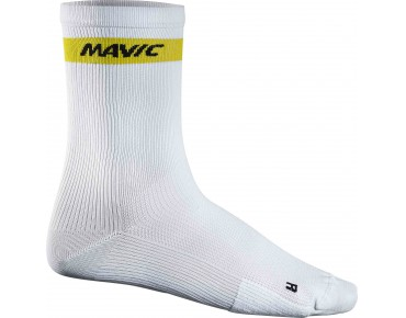 COSMIC HIGH socks white