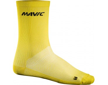 COSMIC HIGH Socken  yellow mavic