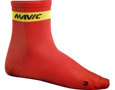 MAVIC COSMIC MID socks racing red