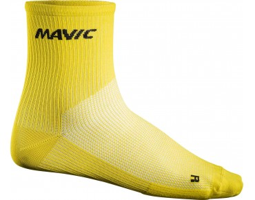MAVIC COSMIC MID socks yellow mavic