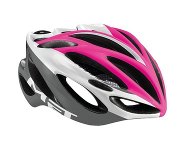 MET INFERNO UL road helmet pink/white/grey