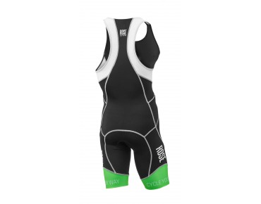 ROSE TRI-SUIT II body black/white/fluo green