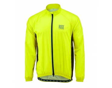 ROSE PRO FIBRE II windbreaker fluo yellow