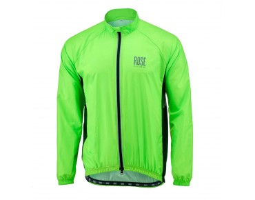 ROSE PRO FIBRE II windbreaker fluo green