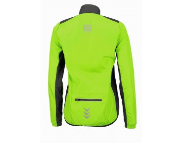 ROSE PRO FIBRE women's cycling jacket fluo green/black
