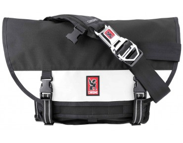 CHROME MINI METRO messenger bag black/white