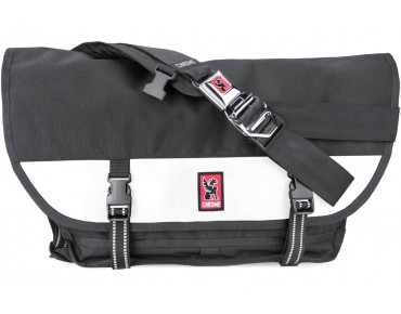 CHROME CITIZEN messenger bag black/white