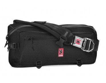 CHROME KADET NYLON Messengerbag black/black