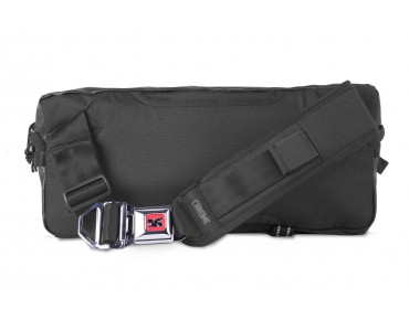 CHROME KADET NYLON messenger bag black/black