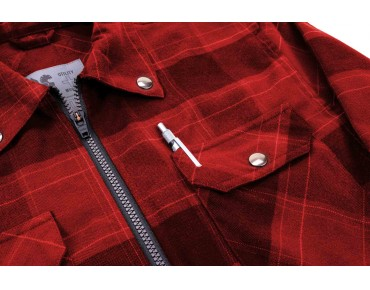 CHROME Ike Windshirt jacket Buffalo Plaid