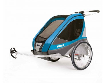 THULE CHARIOT CHARIOT CORSAIRE 2016 child bike trailer blue