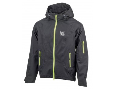 ROSE RR 04 rain jacket black/lime